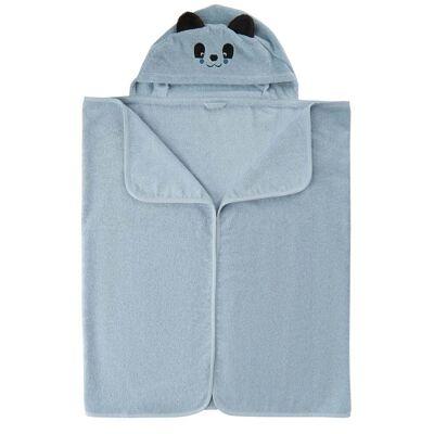 Pippi Økologisk Babyhåndklæde, Celestial Blue - Børnetøj - Pippi
