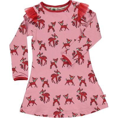 Småfolk Kjole, Sea Pink 2-3 år - Børnetøj - Småfolk