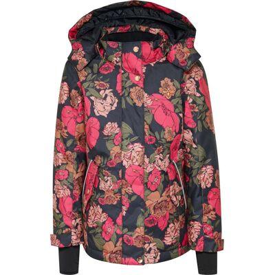 Hummel Rose Skijakke, Multi Colour Pink 116 - Børnetøj - Hummel