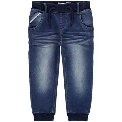 Name it Bob Jeans, Medium Blue Denim, 110 - Børnetøj - Name it
