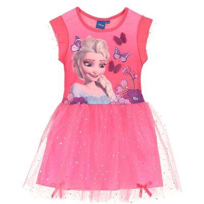 Disney Frozen Kjole, Rosa 8 år - Børnetøj - Disney