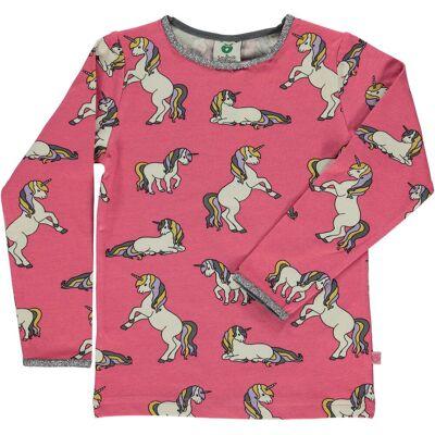 Småfolk T-Shirt, Rapture Rose 3-4 år - Børnetøj - Småfolk