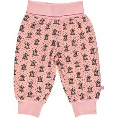 Småfolk Kenzies Carousel Bukser, Silver Pink 86 - Børnetøj - Småfolk