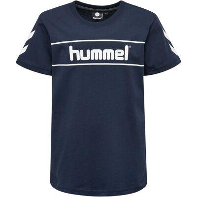 Hummel Jaki T-Shirt, Total Eclipse 116 - Børnetøj - Hummel