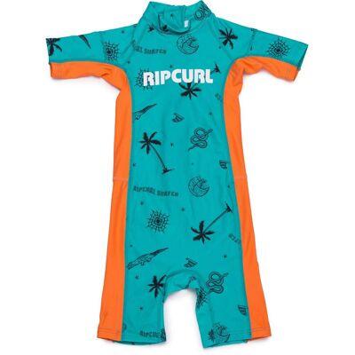 Rip Curl Groms UV-Dragt, Turquoise 3 år - Børnetøj - Rip Curl