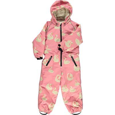 Småfolk Flyverdragt, Winter Pink 5-6 år - Børnetøj - Småfolk