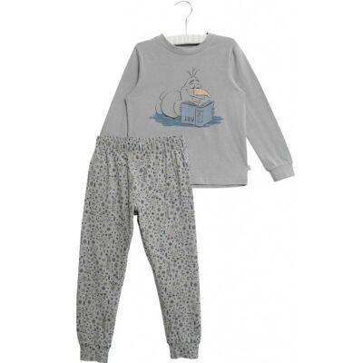 Wheat Frozen Olof Pyjamas, Dove, 110 - Børnetøj - Wheat