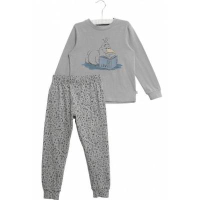 Wheat Frozen Olof Pyjamas, Dove, 104 - Børnetøj - Wheat