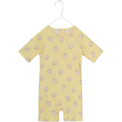 Mini A Ture Goldie UV-Dragt, Pale Banana 110-116 - Børnetøj - Mini A Ture