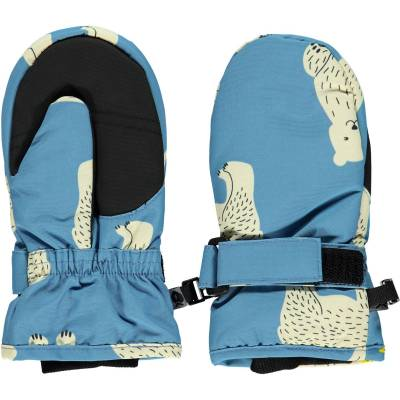Småfolk Vanter, Winter Blue 4-6 år - Børnetøj - Småfolk