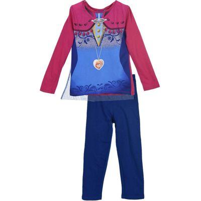 Disney Frozen Pyjamas, Dark Pink 4år - Børnetøj - Disney