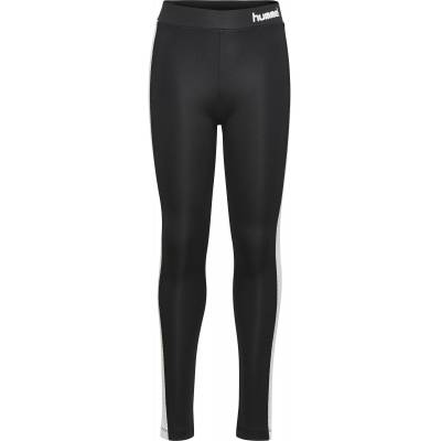 Hummel Felicia Tights, Sort 128 - Børnetøj - Hummel