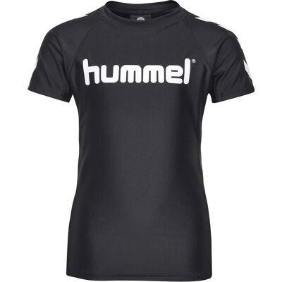 Hummel Zab UV-Trøje, Sort 110 - Børnetøj - Hummel