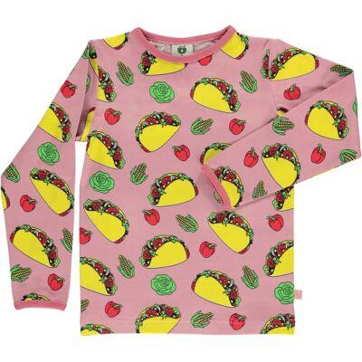Småfolk Taco Trøje, Blush 7-8år - Børnetøj - Småfolk