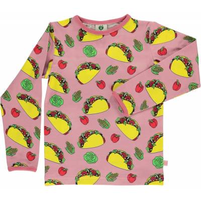 Småfolk Taco Trøje, Blush 2-3år - Børnetøj - Småfolk