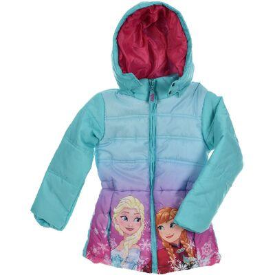 Disney Frozen Jakke, Blå 5 År - Børnetøj - Disney