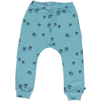 Småfolk Bukser Æble, Air Blue 4-5år - Børnetøj - Småfolk