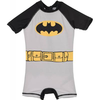 Batman UV-Dragt, Grå 3 år - Børnetøj - Batman