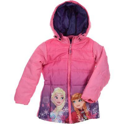 Disney Frozen Jakke, Lyserød 8 år - Børnetøj - Disney