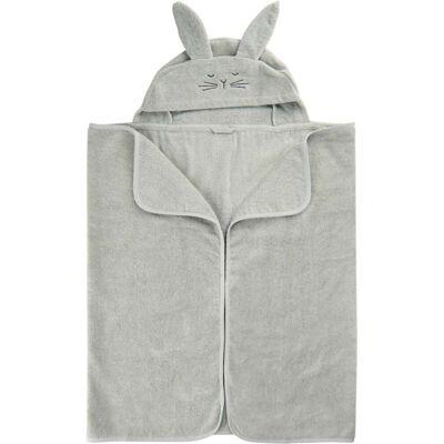 Pippi Økologisk Babyhåndklæde, Harbor Mist - Børnetøj - Pippi