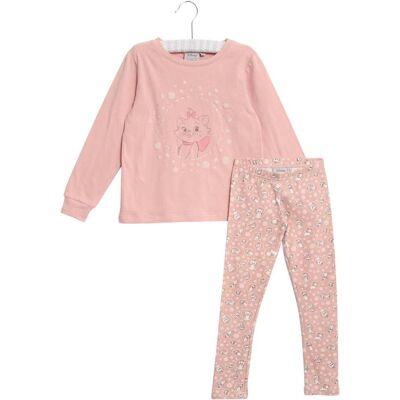 Wheat Disney Aristocats Pyjamas, Misty Rose 128 - Børnetøj - Wheat