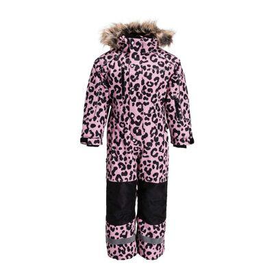 Nordbjørn Arctic Flyverdragt, Pink Nectar Leopard 80 - Børnetøj - Nordbjørn