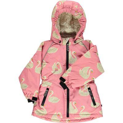 Småfolk Vinterjakke, Winter Pink 3-4 år - Børnetøj - Småfolk