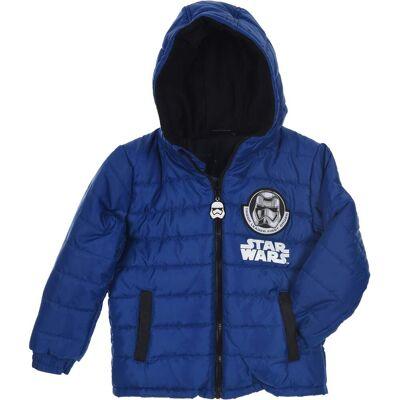 Star Wars Puffer Jakke, Blue 10år - Børnetøj - Star Wars