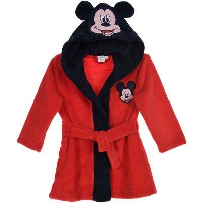 Disney Mickey Mouse Morgenkåbe & Hjemmesko, Red 9-12 - Børnetøj - Disney