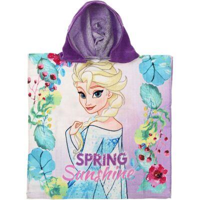 Disney Frozen Babyhåndklæde, Lilla - Børnetøj - Disney