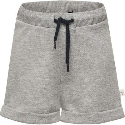 Hummel Demi Shorts, Silver Grey 74 - Børnetøj - Hummel