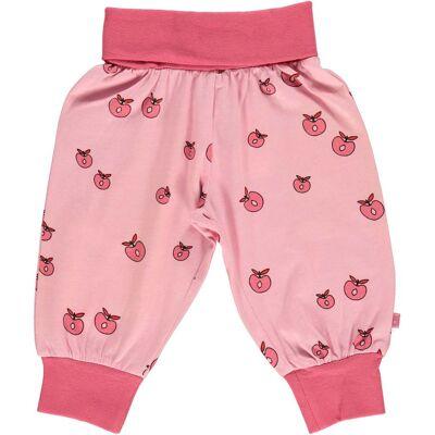 Småfolk Bukser Æble, Sea Pink 80 - Børnetøj - Småfolk