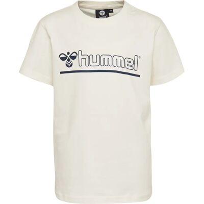 Hummel Cam T-Shirt, Bright White 122 - Børnetøj - Hummel