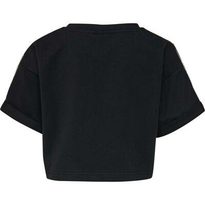 Hummel Nora Top, Black 110 - Børnetøj - Hummel