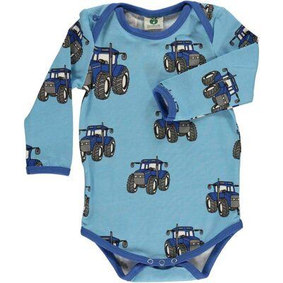 Småfolk Stor Traktor Body, Air Blue 68 - Børnetøj - Småfolk