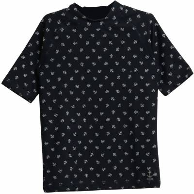 Wheat Jackie Swim T-Shirt, Navy 110 - Børnetøj - Wheat
