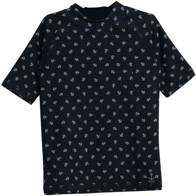 Wheat Jackie Swim T-Shirt, Navy 98 - Børnetøj - Wheat