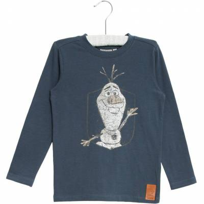 Wheat Frozen Olof T-Shirt, Midnight Navy, 104 - Børnetøj - Wheat