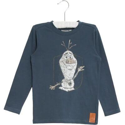 Wheat Frozen Olof T-Shirt, Midnight Navy, 110 - Børnetøj - Wheat