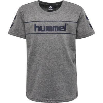 Hummel Jaki T-Shirt, Medium Melange 116 - Børnetøj - Hummel