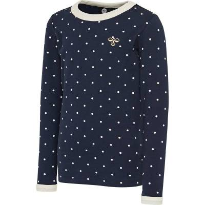 Hummel Tilda T-Shirt, Black Iris, 110 - Børnetøj - Hummel