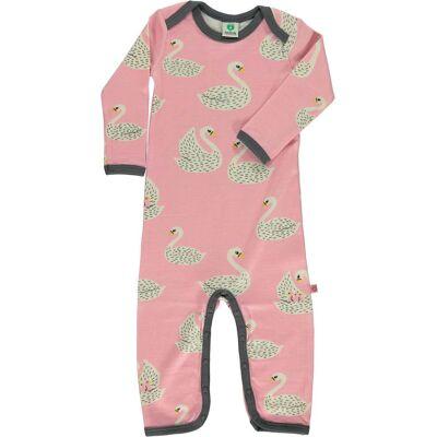 Småfolk Heldragt, Winter Pink 56 cl - Børnetøj - Småfolk