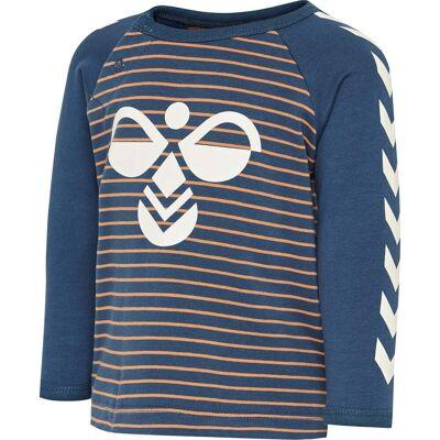 Hummel Tony T-Shirt, Apricot Buff, 68 - Børnetøj - Hummel
