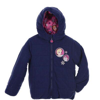 Disney Frozen Puffer Jakke, Purple 4år - Børnetøj - Disney
