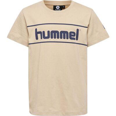 Hummel Jaki T-Shirt, Nomad 134 - Børnetøj - Hummel