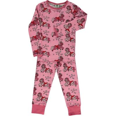 Småfolk Hest Pyjamas, Sea Pink, 7-8 År - Børnetøj - Småfolk