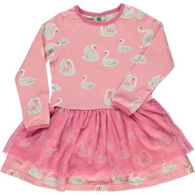 Småfolk Kjole, Sea Pink 5-6 år - Børnetøj - Småfolk