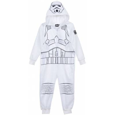 Star Wars Jumpsuit, Hvid 10 år - Børnetøj - Star Wars