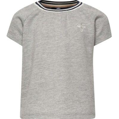 Hummel Demi T-Shirt, Silver Grey 80 - Børnetøj - Hummel