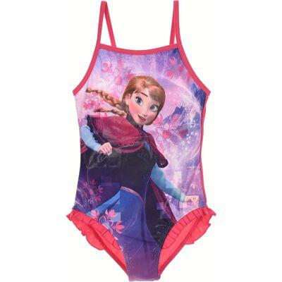 Disney Frozen Badedragt, Fuchsia 6 År - Børnetøj - Disney